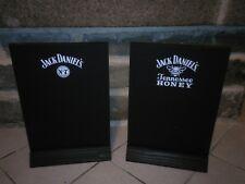 JACK DANIEL Daniel's Tennessee honey whiskey WHISKY ardoise recto verso NEUF