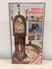 Jumbo Vintage Working Clock Jigsaw Puzzle 1000 Pieces Quartz Mechanism