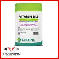 Lindens B12 250mg 120 Tablets Reduce Tiredness & Fatigue