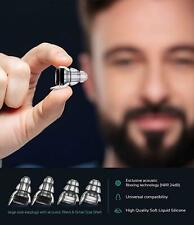 High Fidelity Ear Plugs 24dB Advanced Filter Technology Ear Protection Invisible
