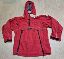 More details for paramo mountain nikwax thermal lined red pullover jacket size large #26