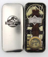 RARE 1997 Jurassic Park The Lost World Raptor Character Watch in Original Box b1