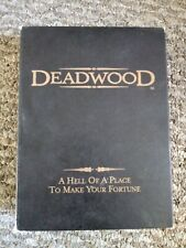 Deadwood - The Complete First Season (DVD, 2005, 6-Disc Set) Ships free from PA
