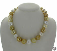 11-12mm White South Sea Baroque Pearl Necklace 18inch
