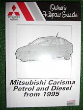 MITSUBISHI CARISMA with petrol +diesel engines WORKSHOP MANUAL 1995-2000