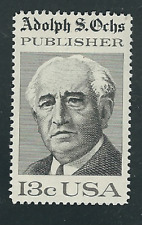 Scott # 1700 ...13 Cents....Adolph S. Ochs.... 25 Stamps