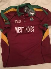 West Indies Cricket Shirt Slazenger Medium Icc Cricket World Cup