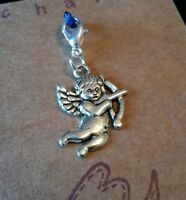 CUPID CLIP ON CHARM FOR BRACELET KEYRING BAG ZIP PURSE
