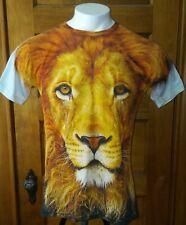 Mr. 1991 Inc & Miss ir XL T-Shirt León cara dos caras de León Camiseta