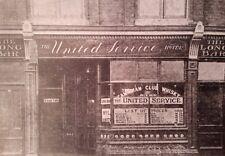 "THE LONG BAR, 188, HIGH STREET, CHATHAM, KENT 7X5"" REPRODUCED PRINT"