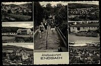 Endbach Hessen s/w Mehrbild AK 1959 Kneipp Tretbad Haus Dennoch Rheuma Bad u.a.