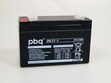 BLEI AKKU 4V 3.5Ah kompatibel Sonnenschein A504/3.5 S   f. Handlampe