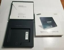 Samsung SSD 850 EVO V-NAND EMPTY BOX with Manual and Software CD NO DRIVE