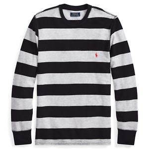 ***X-Large***NWT Polo Ralph Lauren Men's Striped Waffle-Knit Crewneck