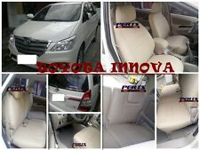 Toyota Innova High quality Factory Fit Customized Leather CAR SEAT COVER