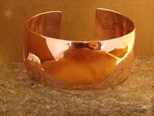 Navajo Indian Jewelry Handmade Copper Bracelet by Verna Tahe! Bright Finish