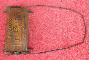 Bissell's Little Daisy Floor Sweeper Vintage Wooden Rustic Toy 1920's 1930's