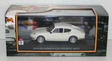 NOSTALGIE 1/43 SCALE - NO050 - SIMCA CG COUPE 1973 - WHITE