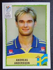 ☆ Panini Euro 2000 - Sweden / Sverige Andreas Andersson #135