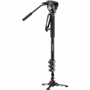 Manfrotto XPRO Video Monopod with FLUIDTECH Panning Base Mfr # MVMXPROA42W