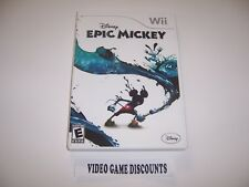 Original Box Replacement Case for Nintendo Wii - DISNEY EPIC MICKEY
