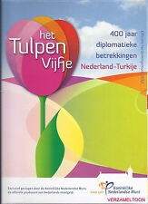 NEDERLAND 2012: HET TULPEN VIJFJE P ZILVER PROOF