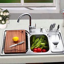 Steel 300ML Sink Holder Dispenser Bottle Soap Liquid Sink Liquid Kitchen