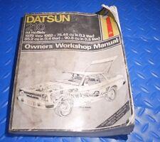 datsun 210  automotive repair manual 1979-1982 owners workshop
