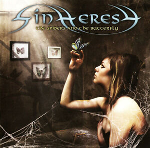 Sinheresy - The Spiders and The Butterfly - CD NEW (JEWEL CASE)