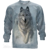 The Mountain Snow Plow Nature Snow Wolf Dog Winter Long Sleeve T Shirt 453673