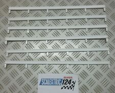 Scalextric Tri-ang SUPER 124 FLEXIBLE TRACK BARRIER 24A/150 (GOOD CONDITION) x 6