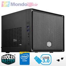 PC Computer Desktop Mini ITX Intel J4105 Quad Core - Ram 8 GB DDR4 - HD 2 TB