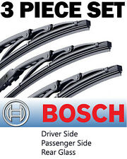 "for Dodge Caliber: Bosch Direct Connect 24""17""11"" Wiper Blades Set -Front + Rear"