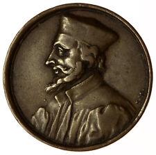 1720 Jan Hus Medal / Joannes Hussus Died 1415 ~ Czech Hussite Wars Reformer