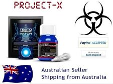 """Testo Anabolic Patch + Testo Extreme - 1 Month Stack -  """"No steroids/HGH"""""""
