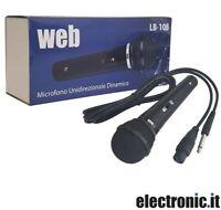 Microfono dinamico professionale LB-108