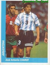330 JOSE ANTONIO CHAMOT ARGENTINA FIGURINE STICKER WORLD CUP FRANCE 98 DS