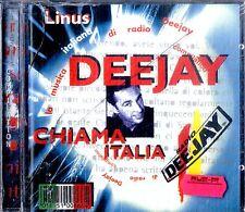 AA.VV. DEEJAY CHIAMA ITALIA (Linus) CD NEW SEALED