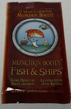 Steve Jackson Games: Munchkin Booty Fish & Ships Expansion Pack  New + bonus