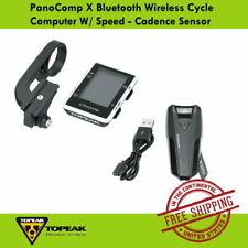 Topeak PanoComp X Bluetooth Wireless Cycle Computer W/ Speed - Cadence Sensor