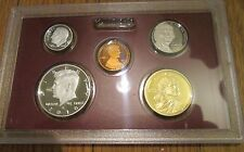 2010 S U.S.Mint 5 Pc Silver Proof Set Partial No Box/Coa 90% Kennedy Dime