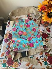 Handmade Right Hand Baby Sling Carrier Hip Shoulder Padded Floral 40 Lbs