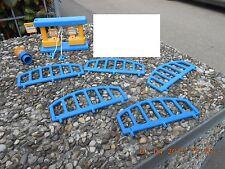 2 Konvolut Sammlung 5 St.Gitter und 1 Tankstelle für WADER Parkhaus Tankstelle