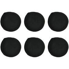 Earmuff Men Women Solid Soft Lining Behind Ear Foldable 6 Warm Black Ear Muffs