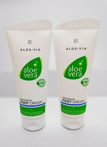 ALOE VERA - ALOE VIA - REPAIRING FOOT CREAM - 100ml - LR health and beauty