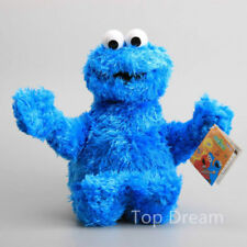 NEW OFFICIAL Sesame Street Cookie Monster Beanie Plush Toy Soft Doll 11'' Teddy