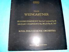 Weingartner Brahms 1 Mozart 39 1985 Opal England NM