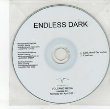 (DV379) Endless Dark, Cold Hard December / Creature - 2011 DJ CD