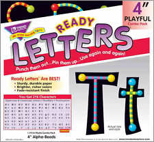 216 Classroom display board Ready Letters - Trend Alpha-Beads 4""