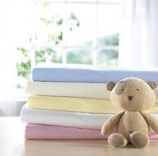 Izziwotnot Bear Essentials Jersey Interlock Cot Fitted Sheet 2 Pack Cream